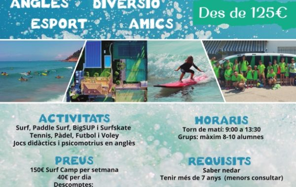 Tennis & Surf Camp Estiu 2019